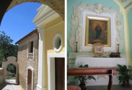 La cappella chiesa Eventi Matrimonio B&B Casa Albini